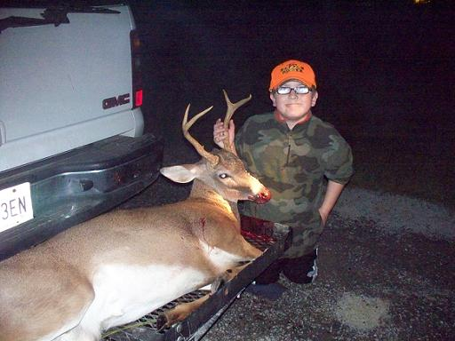 River Norton's first buck
