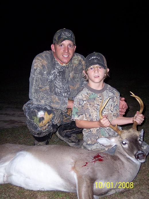 Chase Pierce -- 10-01-08 -- 1st Deer