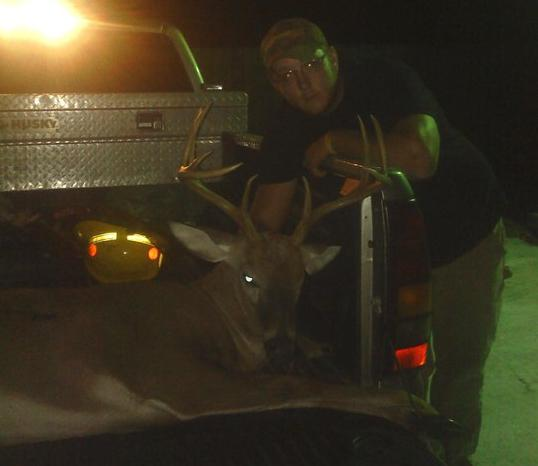 "9pt killed at ""The Sleepy Hollow"" Coward S.C.  by Jay McGinnis"