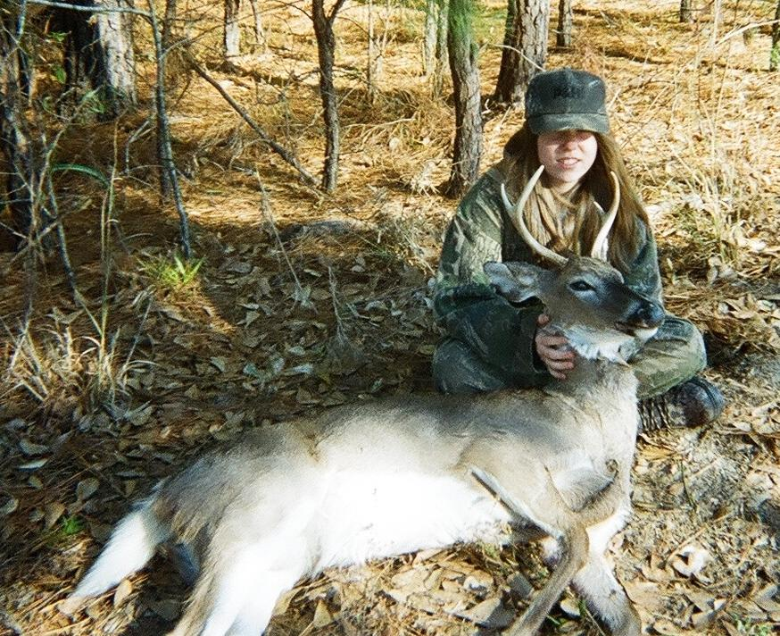 Ashley Lashuay - 12 yrs Old - 12/06/08 - First Deer
