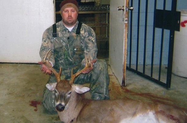"Brandon Cantey -- 9pt -- 180 Lbs -- 18"" wide -- 2008"