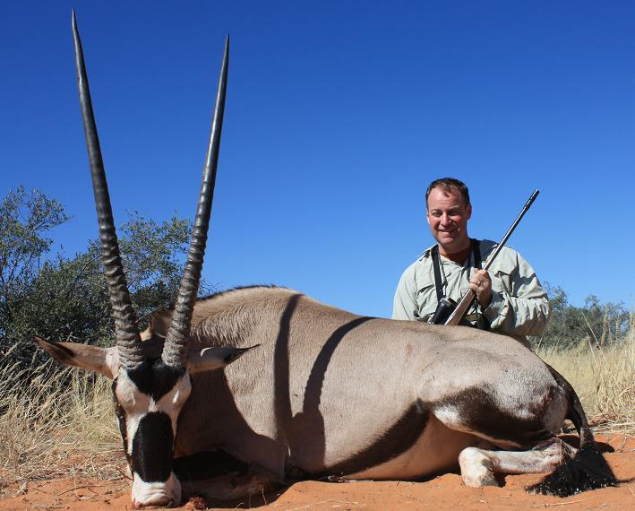 "Al Munn(Florence), 40½"" Bull Gemsbuck, Kalahari Desert, South Africa - May 2009"