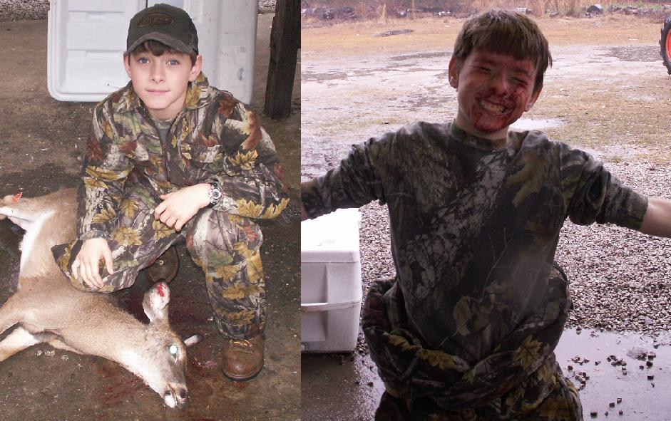 Parker Echols -- 1st Deer -- Thanksgiving weekend