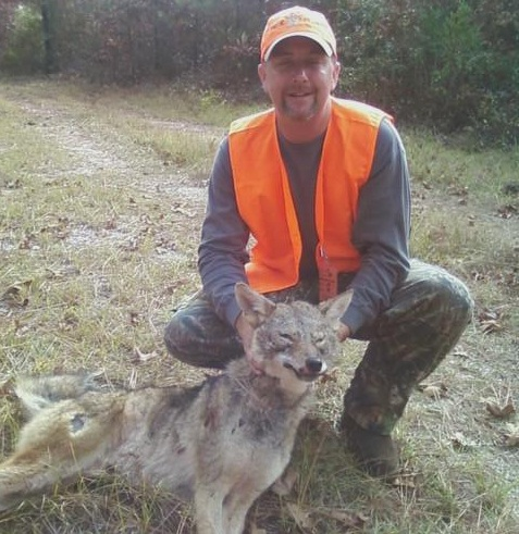 Robbin Thompson - Coyote killed at Aiken bomb plant
