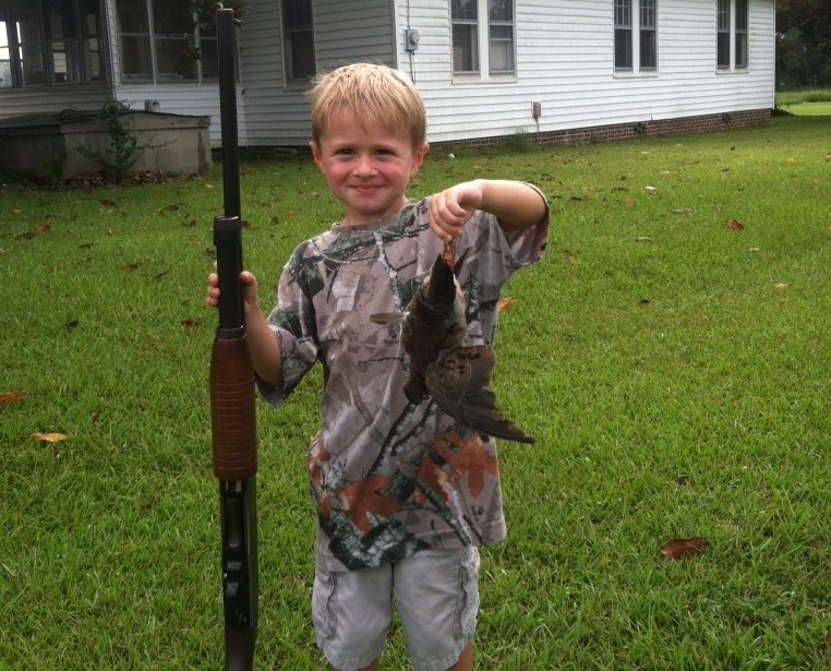 Drake Smith - First Dove!