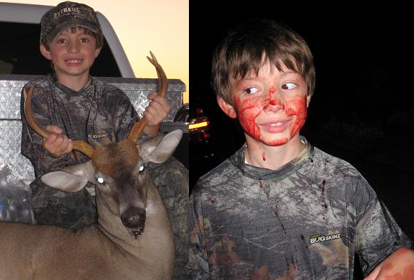 Carter Weatherford -- 1st Deer -- 4Point -- 150 Lbs